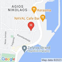 Mappa CONGO HOTEL