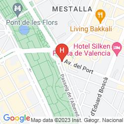Mappa SH VALENCIA PALACE
