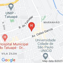 Mappa ESTANPLAZA PAULISTA