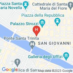 Mappa CASA TORNABUONI BED & BREAKFAST