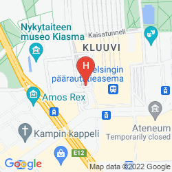 Mappa HOLIDAY INN HELSINKI CITY CENTRE