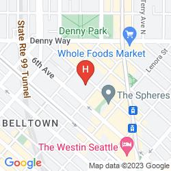 Mappa DAYS INN TOWN CENTER