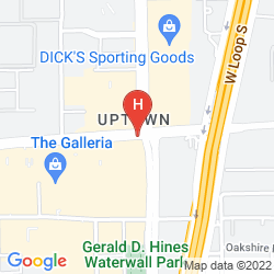 Mappa THE WESTIN OAKS HOUSTON AT THE GALLERIA