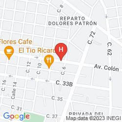 Mappa WYNDHAM MERIDA