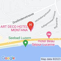 Mappa PENTHOUSE BY ART DECO HOTEL MONTANA