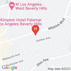Mappa KIMPTON HOTEL PALOMAR LOS ANGELES BEVERLY HILLS
