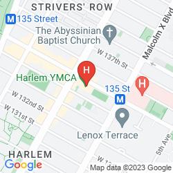 Mappa HARLEM YMCA