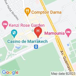 Mappa SOFITEL MARRAKECH LOUNGE & SPA