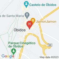 Mappa THE LITERARY MAN OBIDOS