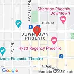 Mappa SAN CARLOS HOTEL