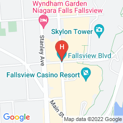 Mappa HILTON NIAGARA FALLS