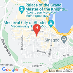 Mappa MYSTIC HOTEL