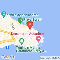 Mappa DECAMERON LOS DELFINES ALL INCLUSIVE