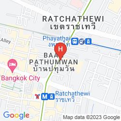 Mappa VIMARN HOSTEL BANGKOK