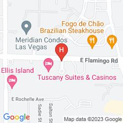 Mappa TUSCANY SUITES & CASINO