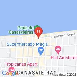 Mappa PALACE PRAIA HOTEL