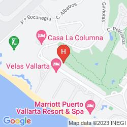 Mappa VELAS VALLARTA SUITE RESORT