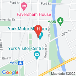 Mappa SETTLERS HOUSE YORK
