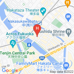 Mappa RESOL TRINITY HAKATA