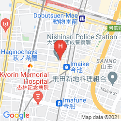 Mappa BUSINESS HOTEL WAKO