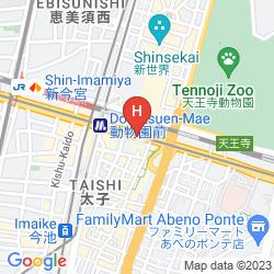 Mappa HOSTEL ZOO
