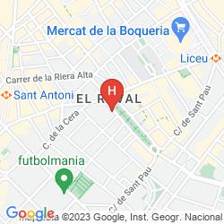 Mappa ABBA RAMBLA