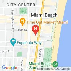 Mappa AQUA HOTEL & SUITES