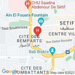 Mappa FRANTZ FANON