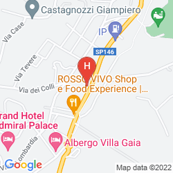 Mappa HOTEL TRIESTE