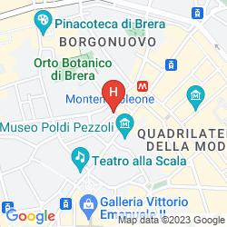 Mappa MANDARIN ORIENTAL, MILAN