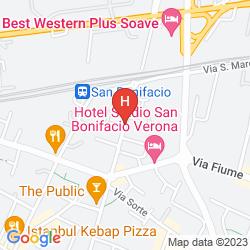 Mappa RESIDENCE VITTORIA