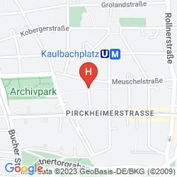 Mappa AZIMUT HOTEL NUREMBERG