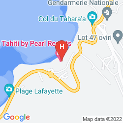 Mappa TAHITI PEARL BEACH RESORT