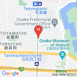 Mappa APARTMENT CLOVER OOTEMAE