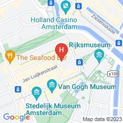 Mappa MAX BROWN MUSEUM SQUARE