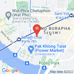 Mappa YODSIAM HOSTEL