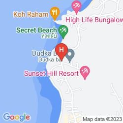 Mappa HAAD CHAO PHAO RESORT