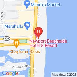 Mappa NEWPORT BEACHSIDE HOTEL & RESORT