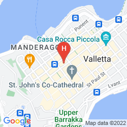 Mappa THE PHOENICIA MALTA