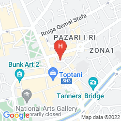 Mappa LOT BOUTIQUE HOTEL