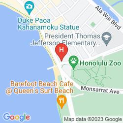 Mappa PARK SHORE WAIKIKI