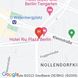 Mappa RIU PLAZA BERLIN