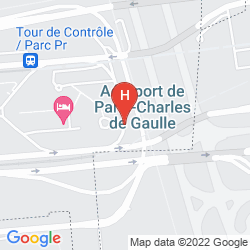 Mappa MERCURE PARIS CDG AIRPORT & CONVENTION