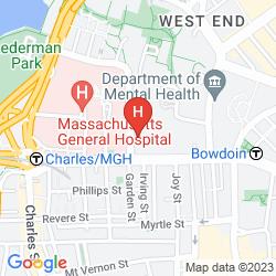 Mappa WYNDHAM BOSTON BEACON HILL