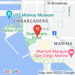 Mappa EMBASSY SUITES BY HILTON SAN DIEGO BAY DOWNTOWN