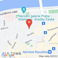 Mappa HASTAL HOTEL PRAGUE OLD TOWN