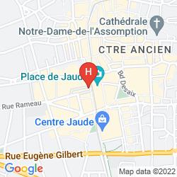 Mappa HôTEL LE LION