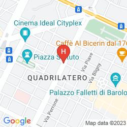 Mappa AI SAVOIA BED & BREAKFAST