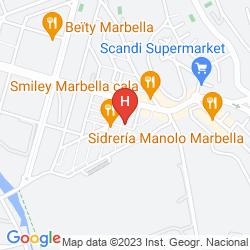 Mappa GRAN HOTEL GUADALPIN BANUS