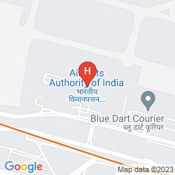 Mappa CENTAUR HOTEL I.G.I AIRPORT - DELHI
